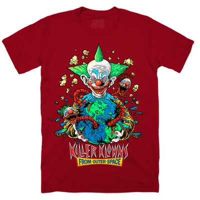 KILLER KLOWNS: APPETITE FOR DESTRUCTION T-SHIRT (KLOWN NOSE RED)