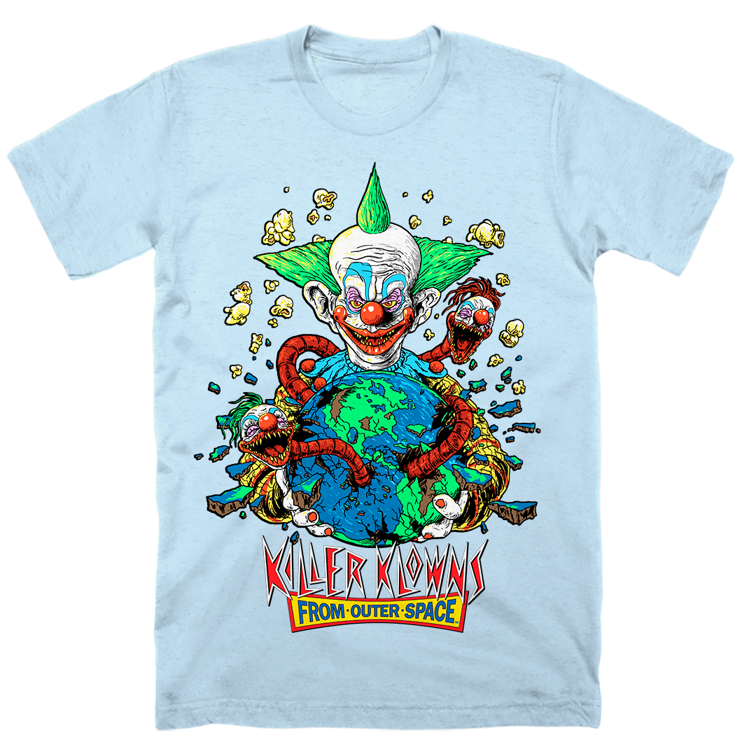 KILLER KLOWNS: APPETITE FOR DESTRUCTION T-SHIRT (PRISM BLUE)