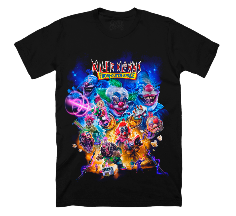 KILLER KLOWNS FROM OUTER SPACE: THE INVASION T-SHIRT