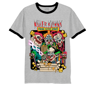KILLER KLOWNS FROM OUTER SPACE: PIZZA RINGER T-SHIRT