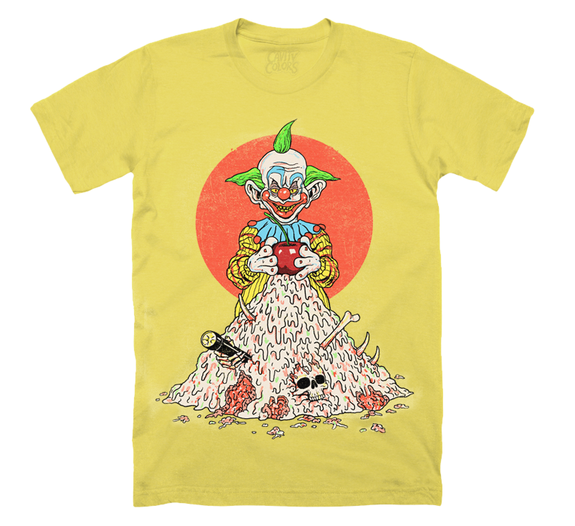 0f570e8949b5 KILLER KLOWNS FROM OUTER SPACE: ACID PIE T-SHIRT - CAVITYCOLORS, LLC