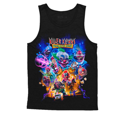 KILLER KLOWNS FROM OUTER SPACE: THE INVASION TANKTOP