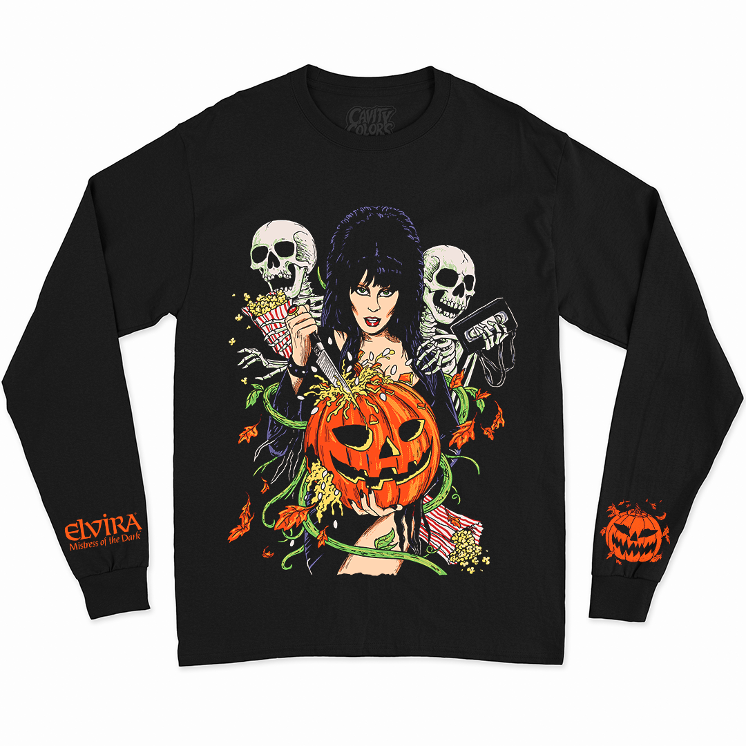 ELVIRA: HALLOWEEN FOREVER - LONG SLEEVE SHIRT