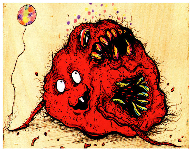 """MEATWAD OF GROSS' - 8x10 PRINT"