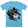 '90s SUMMER SLASHER - T-SHIRT (OCEAN BLUE)