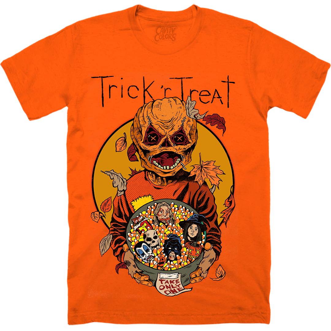 TRICK 'R TREAT: TAKE ONLY ONE - T-SHIRT (PUMPKIN GUTS)