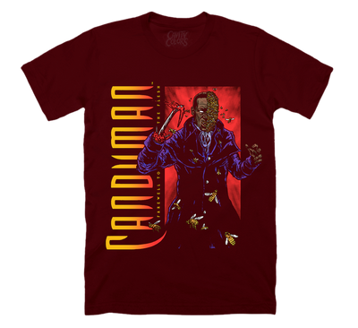 CANDYMAN 2: RETRO HORROR - BLOOD RED T-SHIRT