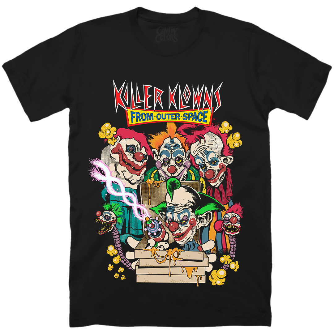 KILLER KLOWNS FROM OUTER SPACE: PIZZA T-SHIRT