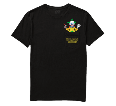 KILLER KLOWNS FROM OUTER SPACE: SHORTY POCKET TEE