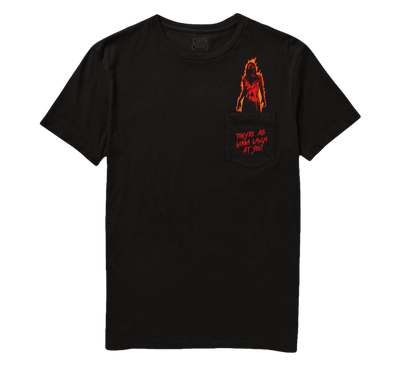 THEY'RE ALL GONNA LAUGH AT YOU - POCKET TEE