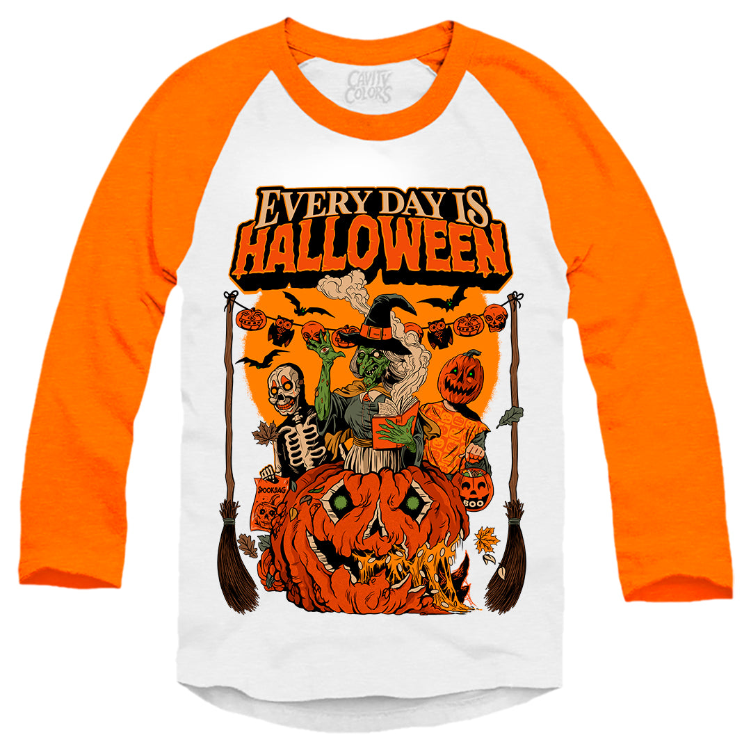 EVERY DAY IS HALLOWEEN - BASEBALL SHIRT