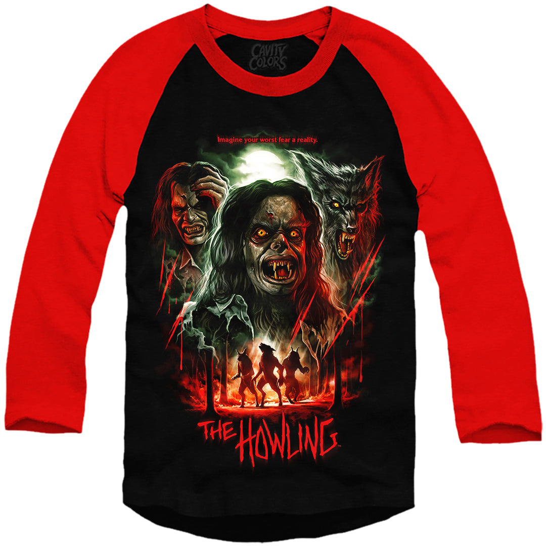 THE HOWLING: 40th ANNIVERSARY - BASEBALL SHIRT