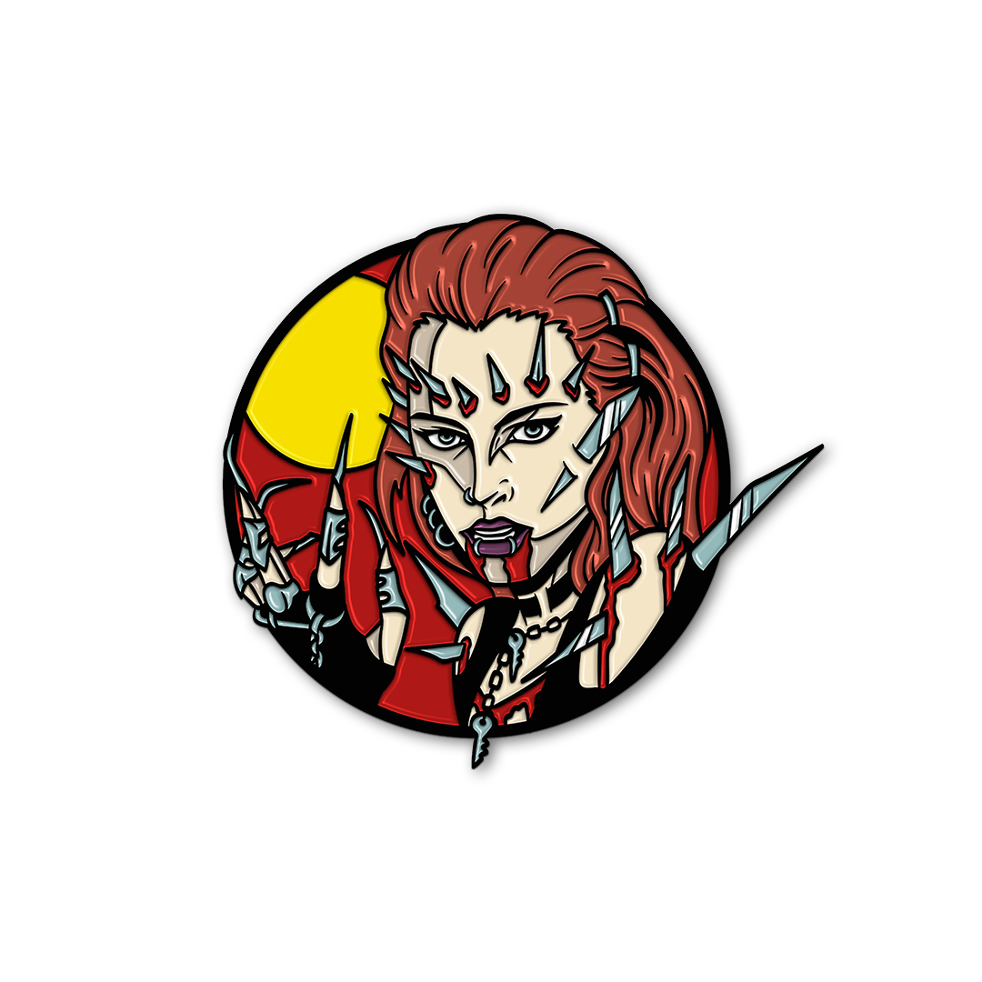 RETURN OF THE LIVING DEAD 3: TO DIE FOR - ENAMEL PIN