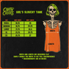 ANATOMY OF A JACK O' LANTERN - LADIES SLOUCHY TANKTOP