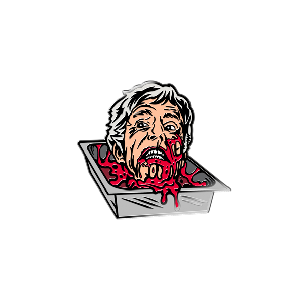 """DR. CARL HILL"" ENAMEL PIN"