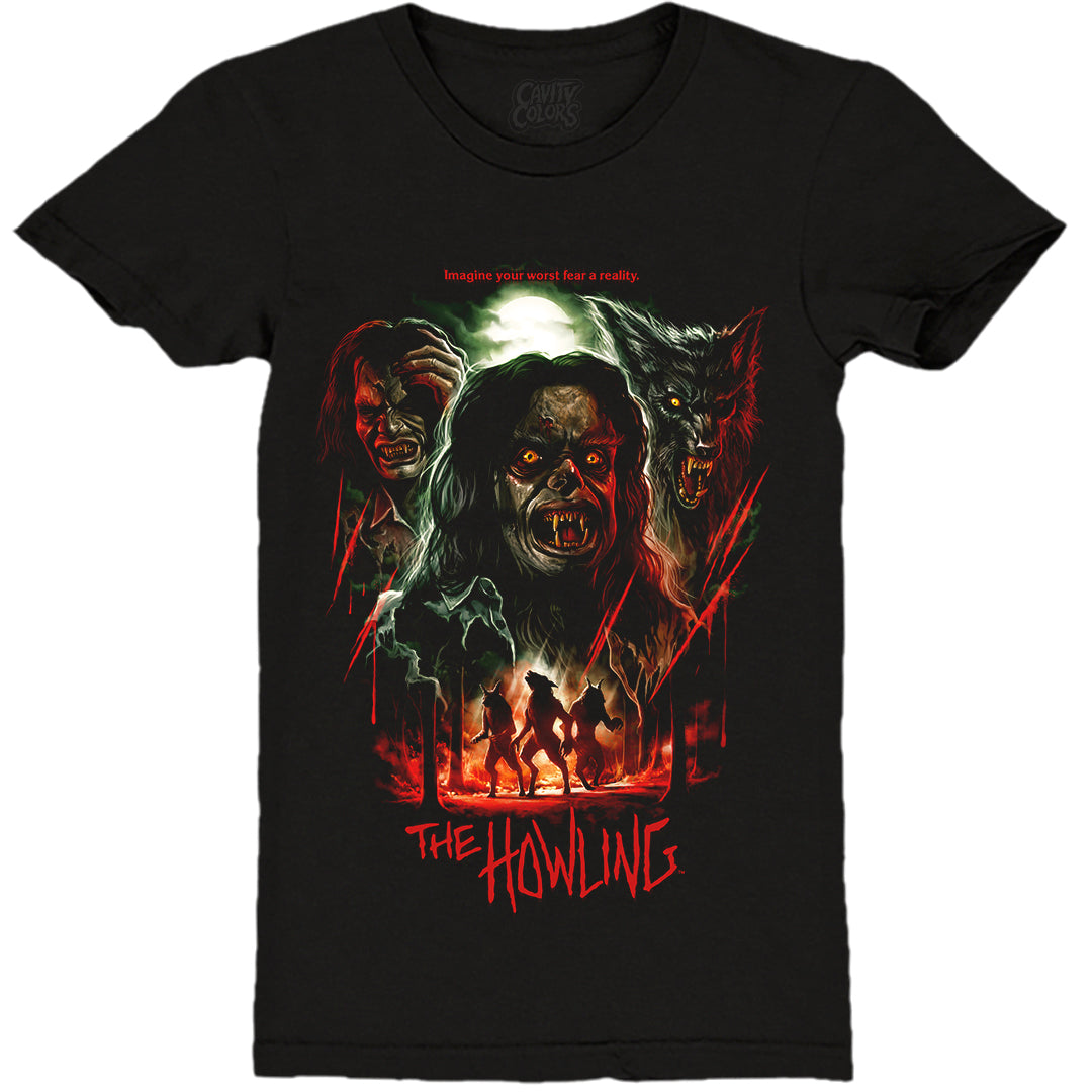 THE HOWLING: 40th ANNIVERSARY - LADIES T-SHIRT