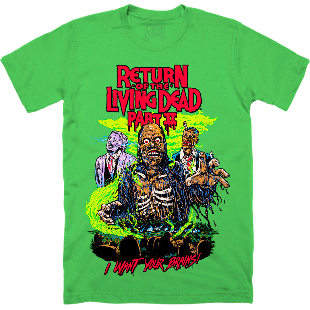 TARMAN: RETRO HORROR - T-SHIRT (TRIOXIN GREEN)