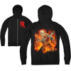CAMP BLOOD  - ZIP UP HOODIE (72 HOURS ONLY)