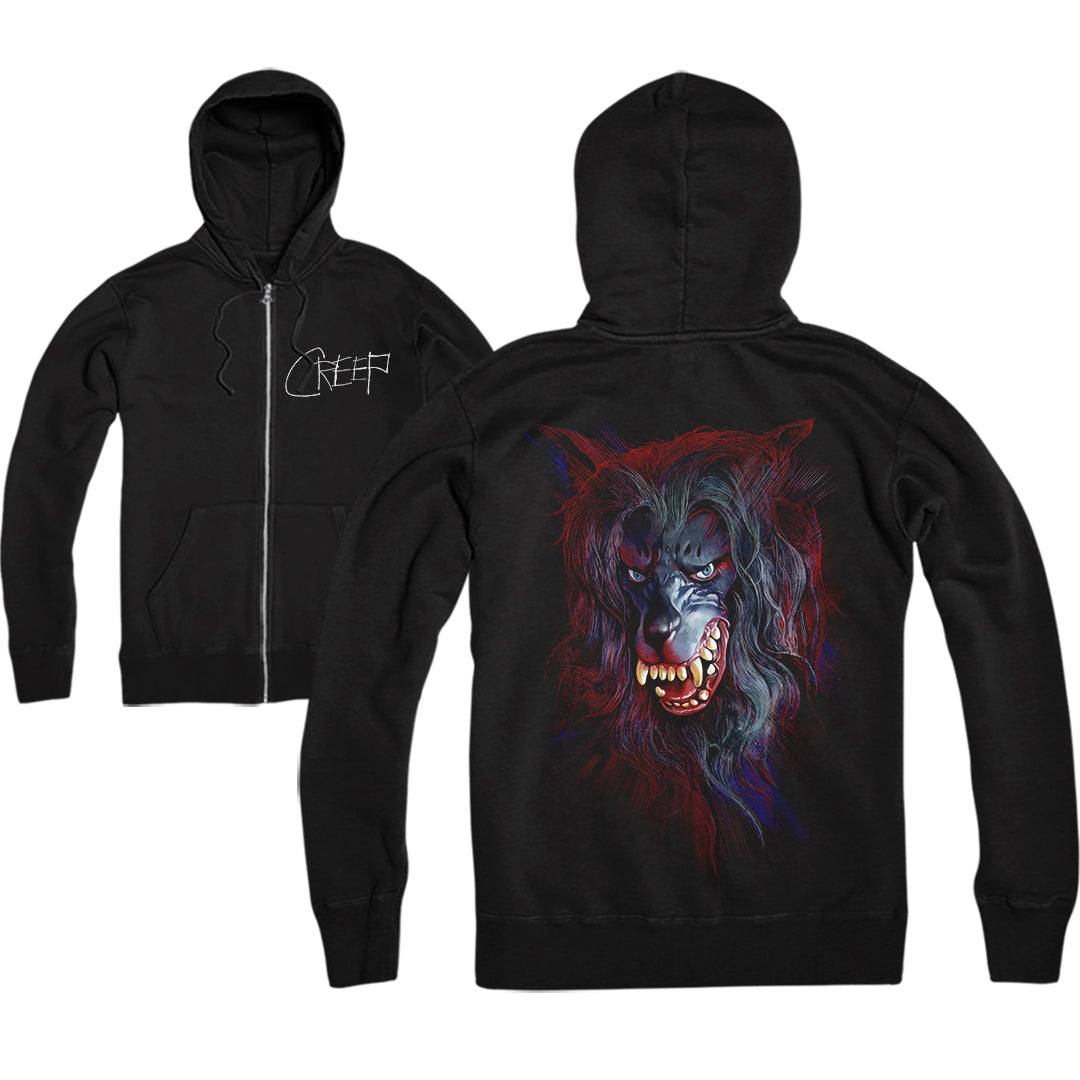 CREEP: EAT YOU UP - ZIP UP HOODIE