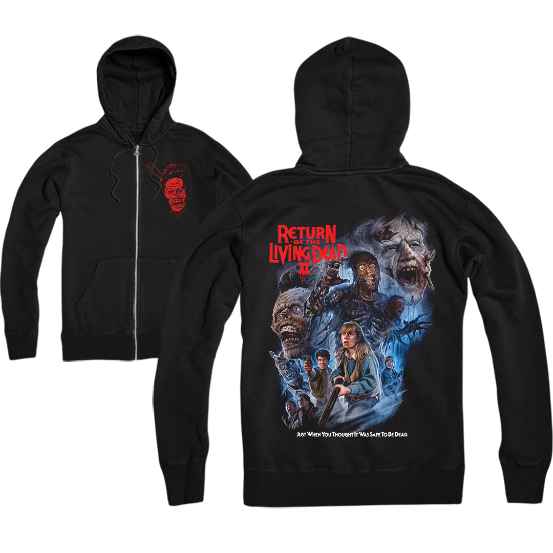 RETURN OF THE LIVING DEAD PART II - ZIP-UP HOODIE