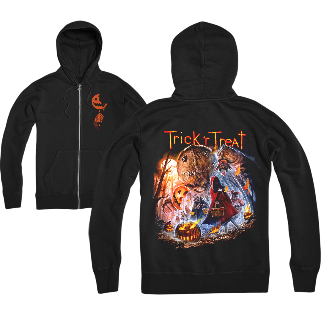 TRICK 'R TREAT: HALLOWEEN NIGHT - ZIP-UP HOODIE