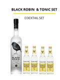 Black Robin & Tonic Set