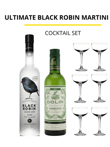 Ultimate Black Robin Martini