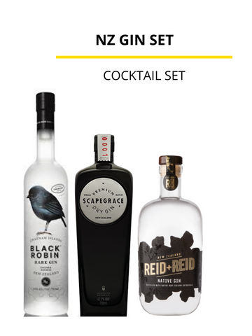 New Zealand Gin Set