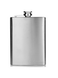 Hip Flask Stainless Steel 8oz