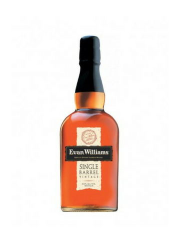 Evan Williams Single Barrel Vintage Bourbon Whiskey 2008