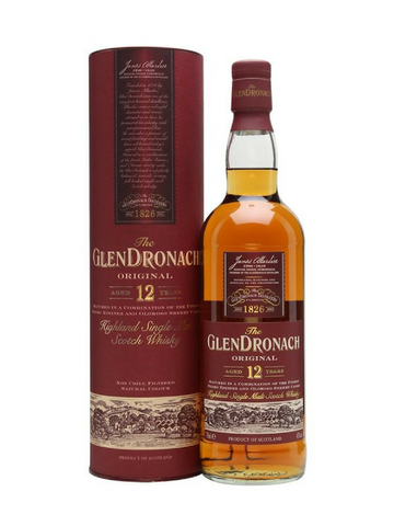 GlendDronach 12YO Highland Single Malt Scotch Whisky