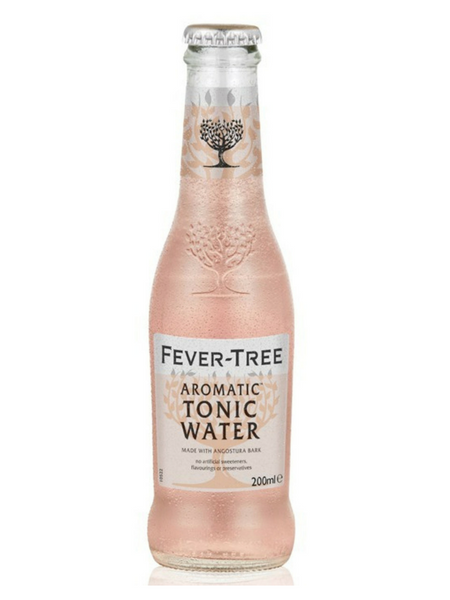 Fever-Tree Aromatic Tonic Water - 24 x 200ml