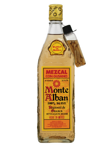 Monte Alban Mezcal with worm | NZ | Best Price
