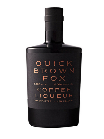 Quick Brown Fox | NZ Coffee Liqueur | Free Shipping