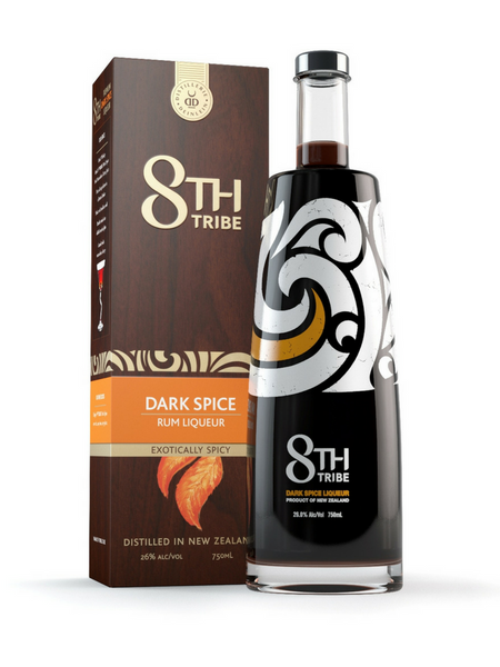 8th Tribe Dark Spice Liqueur | NZ