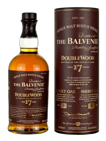 Balvenie 17 Year Old Double Wood | NZ | FREE FREIGHT