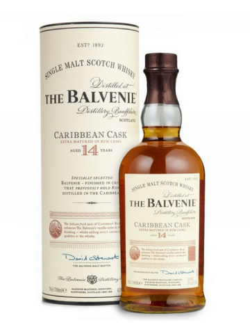 Balvenie 14 Year Old Caribbean Cask Single Malt Scotch Whisky | NZ