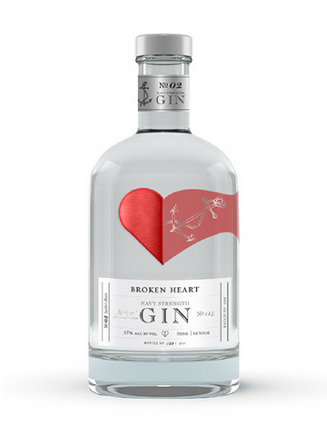 Broken Heart Navy Strength Gin | NZ | $ freight
