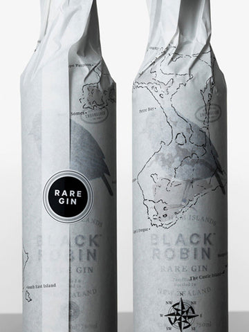 Black Robin Gin Wrap