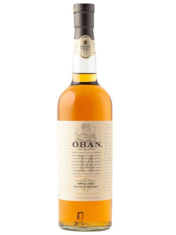 Oban 14YO Single Malt Scotch Whisky Gift Box