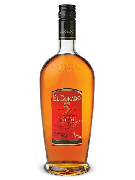 El Dorado Golden 5 Year Old Rum