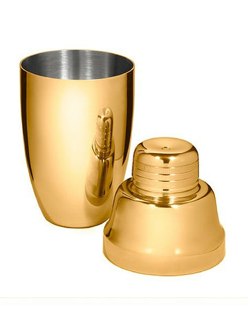 Gold Plated Cocktail Shaker NZ