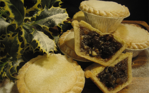 Luxury Mince Pies pack of 4 or 6