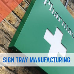 DIBOND SIGN TRAYS