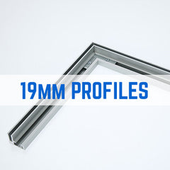 19mm TENSION FABRIC FRAME PROFILES