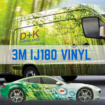 Vehicle Wrap Cast Vinyl Printing Trade - 3M IJ180