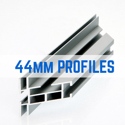 44mm TENSION FABRIC FRAME PROFILES - GROUP101