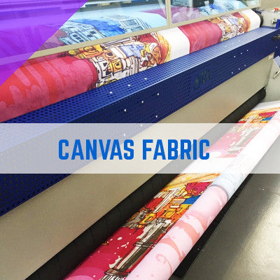 CANVAS FABRIC - 280gsm - 100% Polyester Knitted Textile