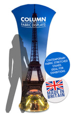 Fabrink Column Icon TEXstyle Fabric Exhibition Promotional Banner Stand
