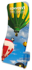Fabrink TEXStyle Swirl Convolve Fabric Banner Stands